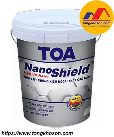 Sơn lót chống kiềm TOA Nanoshield ngoại thất