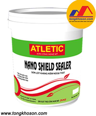 Sơn lót chống kiềm Atletic ngoại thất Nano Shield Sealer