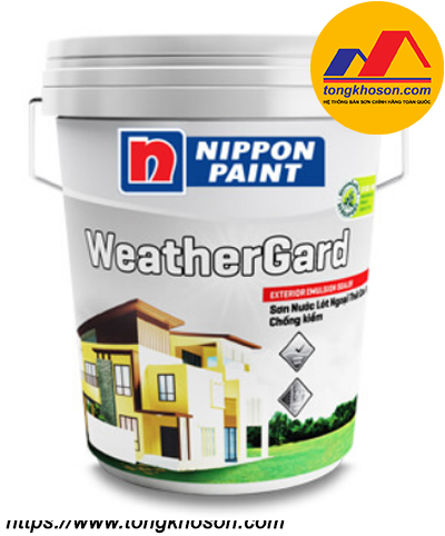Sơn lót chống kiềm Nippon WeatherGard ngoại thất