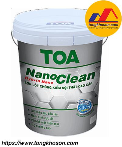 Sơn lót chống kiềm TOA NanoClean nội thất