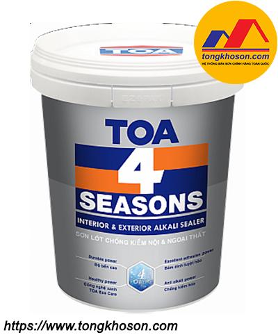 Sơn lót chống kiềm TOA 4 Seasons nội & ngoại thất