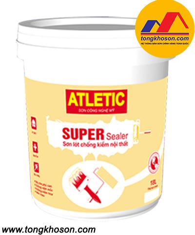 Sơn lót chống kiềm Atletic nội thất Super Sealer