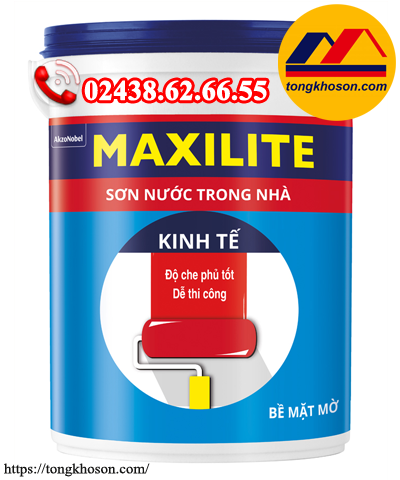 Sơn Maxilite kinh tế nội thất EH3