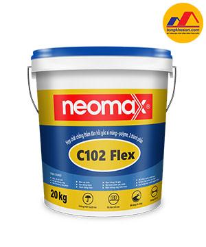 Hợp chất chống thấm đàn hồi Neomax-C102 Flex, 2 thành phần