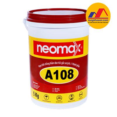Hợp chất chống thấm đàn hồi Neomax A108 gốc Acrylic, 1 thành phần
