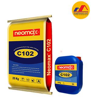 Hợp chất chống thấm Neomax C102, 2 thành phần gốc copolyme