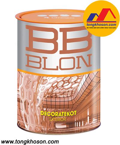Sơn Boss BB Blon Decoratekot ngoại thất siêu bóng