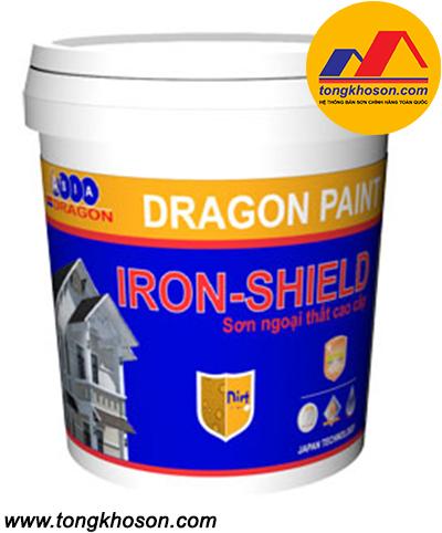 Sơn Dragon Iron Shield Extra ngoại thất mịn