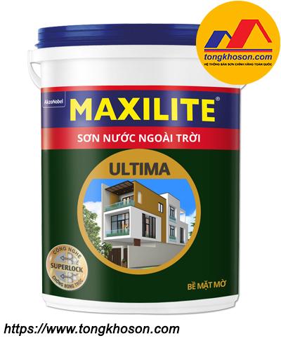 Sơn ngoài trời bề mặt mờ Maxilite ULTIMA