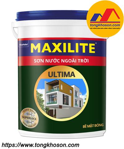 Sơn ngoài trời bề mặt bóng Maxilite Ultima
