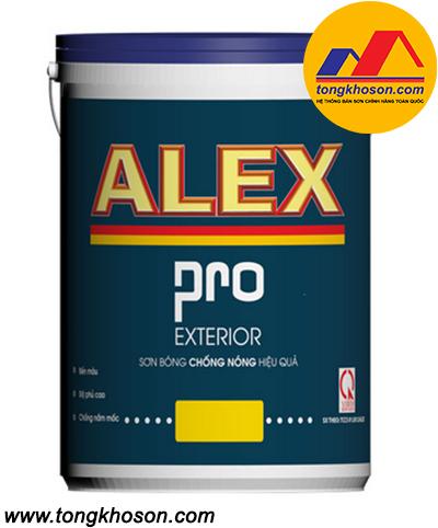 Sơn Alex Pro ngoại thất chống nóng hiệu quả