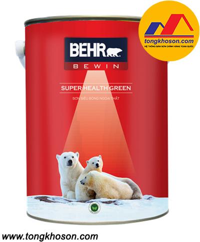 Sơn Behr bóng đặc biệt ngoại thất Super Health Green