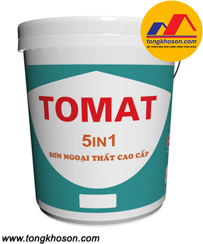 Sơn Tomat 5in1 ngoại thất