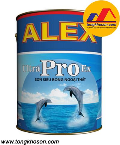 Sơn Alex Ultra Pro Ex ngoại thất siêu bóng