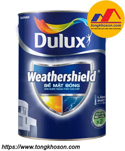 Sơn ngoại thất Dulux WeatherShield Bề mặt bóng BJ9