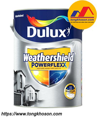 Sơn ngoại thất Dulux WeatherShield Powerflexx GJ8B