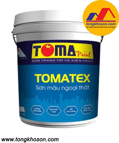 Sơn Toma Tomatex ngoại thất