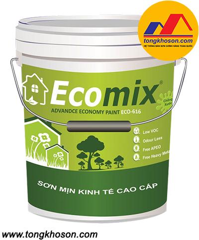 Sơn Ecomix ECO-616 sơn phủ nội thất cao cấp