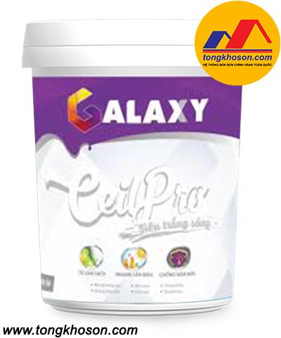 Sơn siêu trắng trần Galaxy Ceilpro