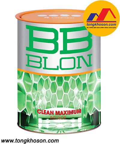 Sơn Boss BB BLON Clean Maximum nội thất lau chùi hiệu quả