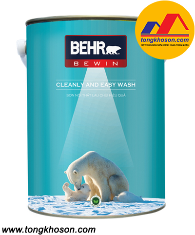 Sơn Behr nội thất lau chùi Cleanly and Easy Wash