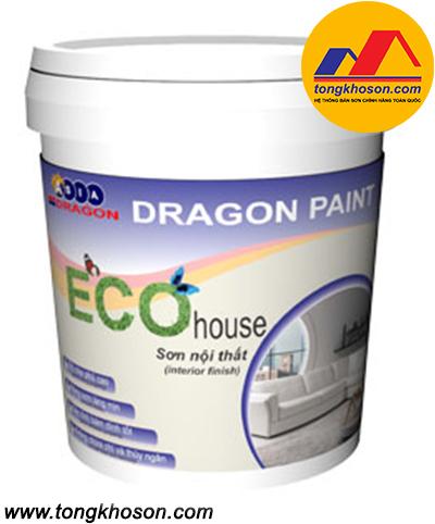 Sơn Dragon Eco House nội thất bóng mờ