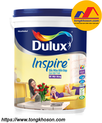 Sơn nội thất Dulux Inspire bóng 39AB