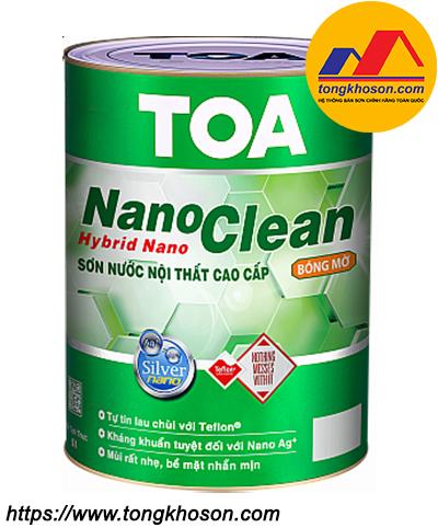Sơn TOA NanoClean bóng mờ nội thất
