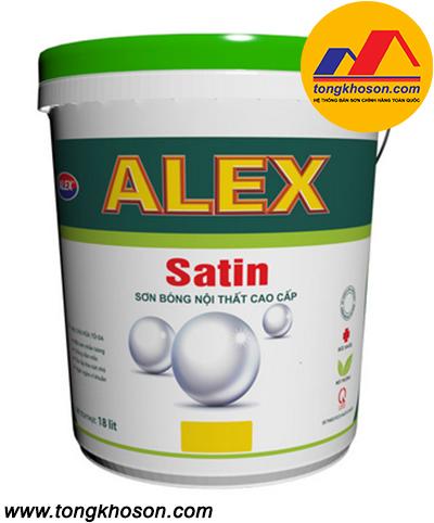 Sơn Alex Satin nội thất bóng