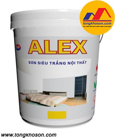 Sơn Alex siêu trắng nội thất