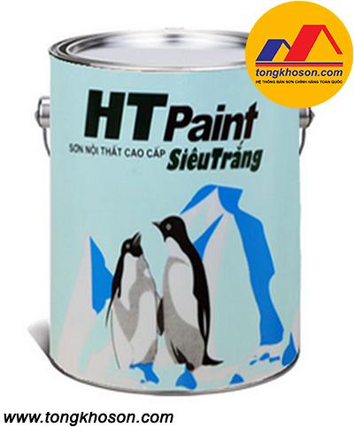 Sơn HT Paint siêu trắng nội thất