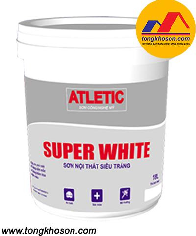 Sơn Atletic siêu trắng nội thất Super White