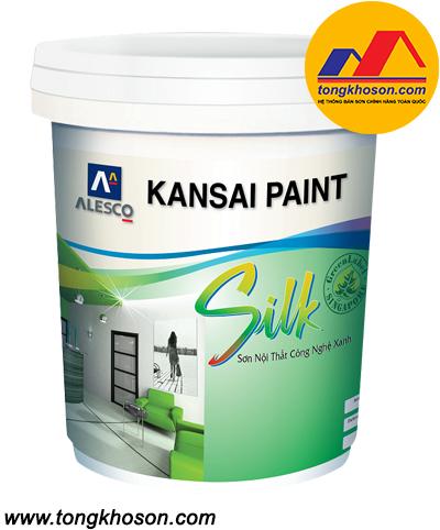 Sơn Kansai Silk nội thất công nghệ xanh