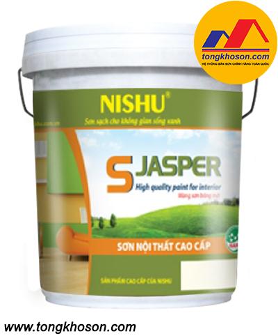 Sơn Nishu S-Jasper nội thất láng mịn cao cấp