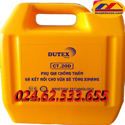 Phụ gia chống thấm Dutex CT.20D