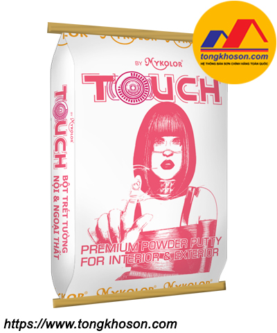Bột trét Mykolor Touch Premium Powder Putty For Interior & Exterior