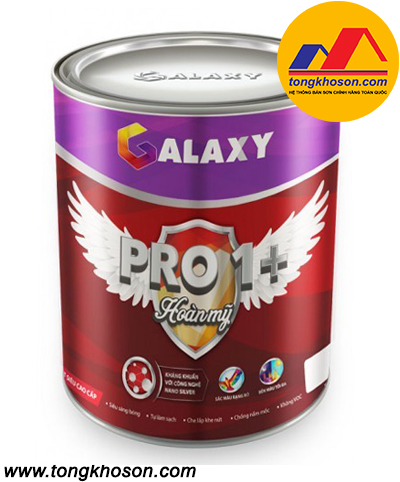 Sơn Galaxy PRO 1+ nội thất siêu sáng bóng