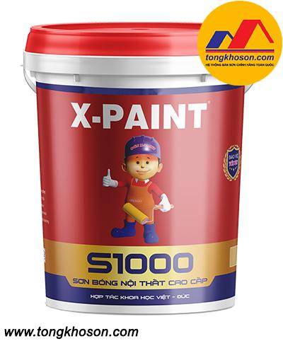 Sơn X-Paint bóng nội thất cao cấp S1000