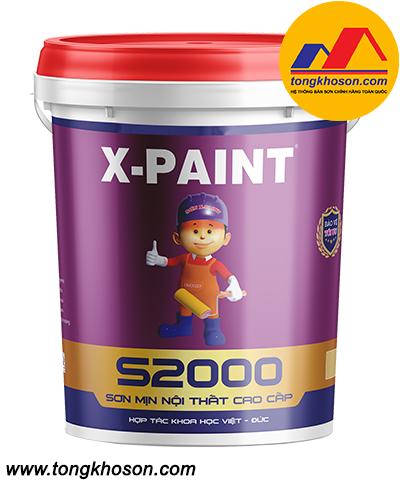 Sơn X-Paint mịn nội thất S2000