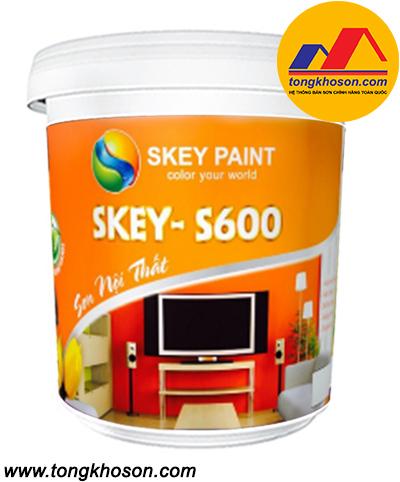 Sơn công nghệ xanh Skey S600 nội thất