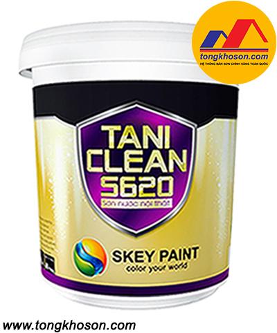 Sơn Skey TANI CLEAN S620 nội thất lau chùi dễ dàng