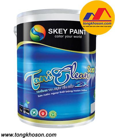 Sơn Skey TANI CLEAN S820 ngoại thất lau chùi dễ dàng