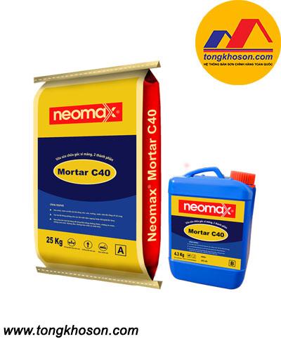 Vữa sửa chữa gốc xi măng Neomax Mortar C40