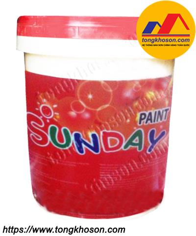 Sơn nước Sunday Colormix ngoài nhà mịn