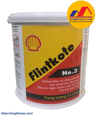 Shell Flintkote No.3 - màng chống thấm bitum 1 thành phần