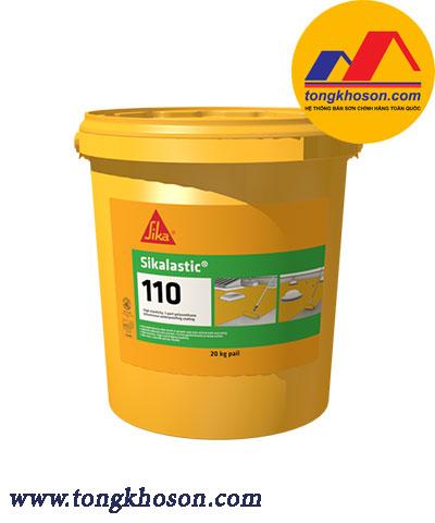 Sơn chống thấm Sikalastic 110, 1 thành phần gốc Polyurethane