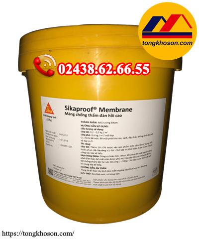Sơn chống thấm Sikaproof Membrane gốc Bitum