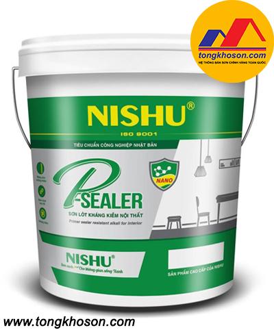 Sơn lót chống kiềm nội thất Nishu P-Sealer