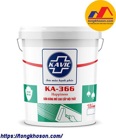 Sơn Kavic bóng mờ nội thất KA-366