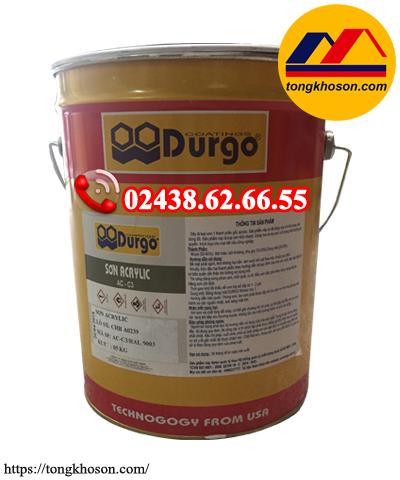 Sơn Acrylic Durgo mau khô